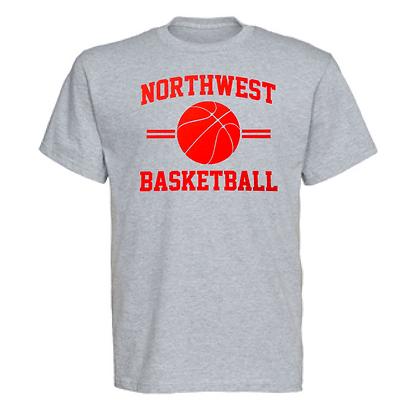 Northwest Indians Basketball Logo #35 Unisex T-Shirt
