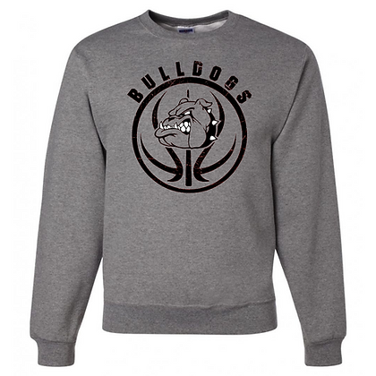 Green Bulldogs Football Logo #27 Unisex Crew Neck Sweater