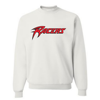 Akron Racers Unisex Cotton blend Crew neck Design 1