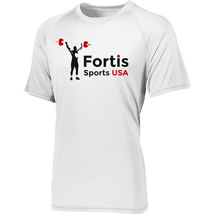 Fortis Weightlifting Sports USA Logo Mens Compression Shirt