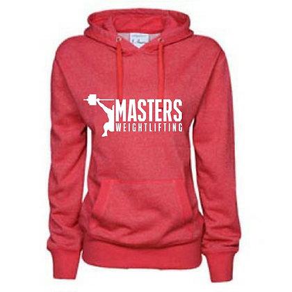 Masters Weightlifting Ladies Glitter Hoodies