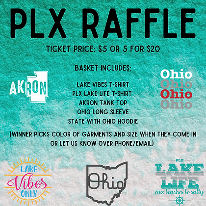 PLX Raffle Tickets