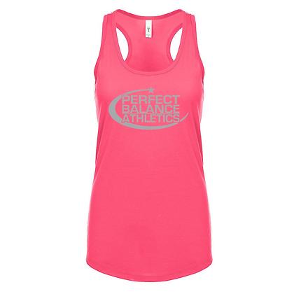 Perfect Balance Athletics Logo (Gray) Women's Racerback Tank