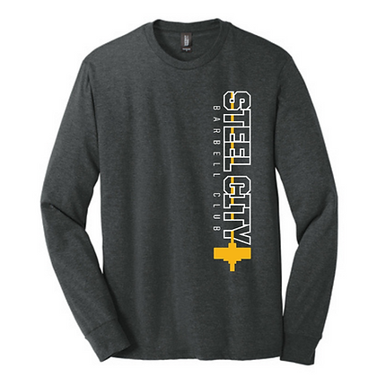 Steel City Design #5 Unisex Long Sleeve Triblend