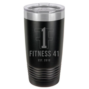 Fitness Forty One Tumbler
