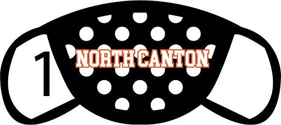 North Canton Polka Dots Face Mask