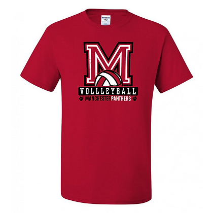 Manchester Panthers Volleyball Logo #81 Unisex T-Shirt