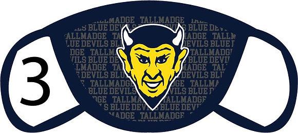 Tallmadge Blue Devils Face Mask