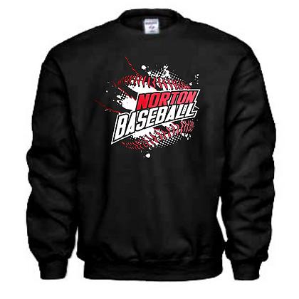 Norton Panthers Baseball Logo #29 Unisex Sweatshirt