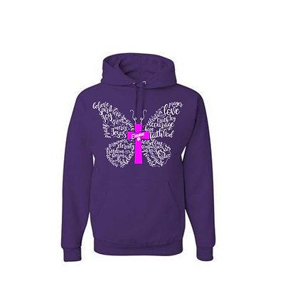 Emma Butterfly Hoodie