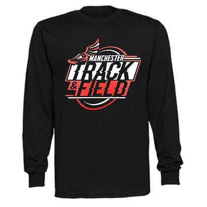 Manchester Panthers Track Logo #77 Unisex Long Sleeve T-Shirt