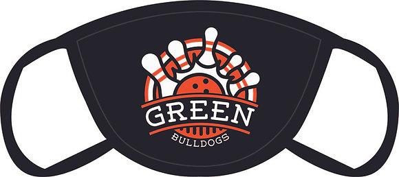 Green Bowling Face Mask