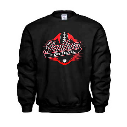 Manchester Panthers Football Logo #58 Unisex Crew Neck Sweater