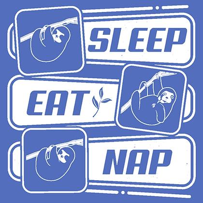 Eat. Sleep. Nap Sloth