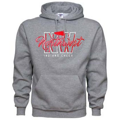 Northwest Indians Cheer Logo #41 Unisex Hoodie