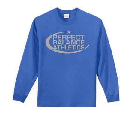 Perfect Balance Athletics Logo (Grey) Unisex Long Sleeve Tee
