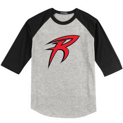 Akron Racers Unisex Baseball Tee Design 2
