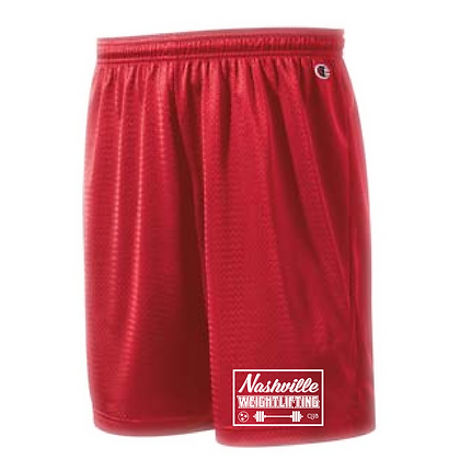 Nashville Weightlifting Men's Mesh Shorts