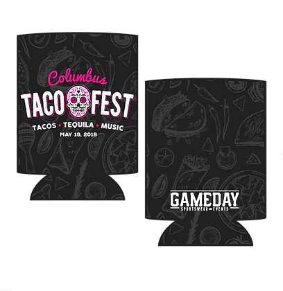 Columbus Taco Fest Commemorative Koozie