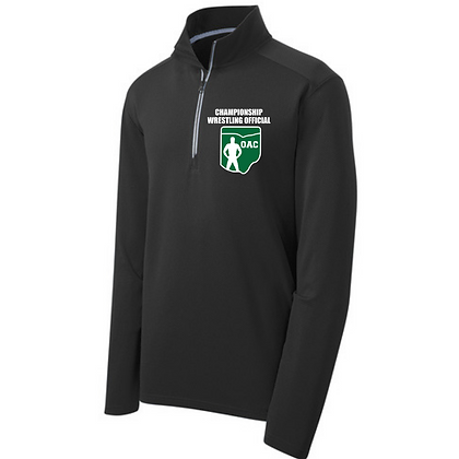 OAC Embroidered Championship Wrestling Official 1/4 Zip