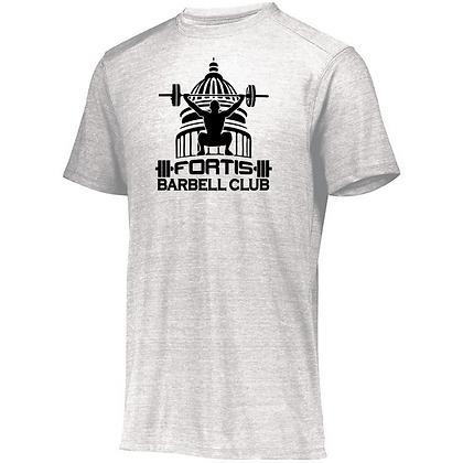Fortis Weightlifting Barbell Club (Black Logo) Unisex Tri-blend