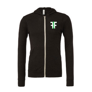 Fitness Forty One Full Zip Triblend Hoodie