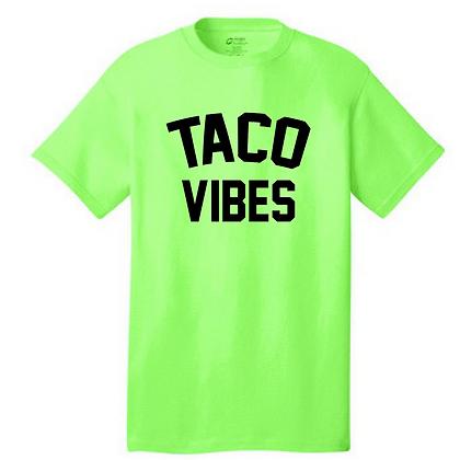 Taco Vibes Unisex T-Shirt - Customizable