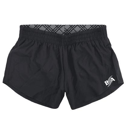 Blue Storm Athletics Logo (White & Gray) Women's Shorts