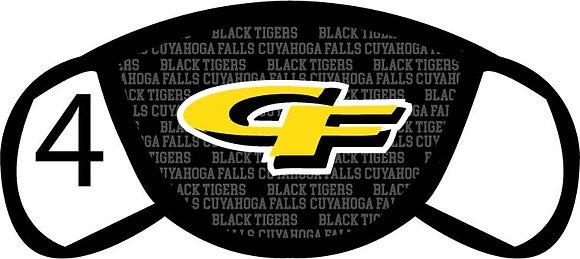 Cuyahoga Falls CF Face Mask