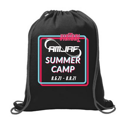 AMJRF Virtual Summer Camp Fleece Sweatshirt Cinch Bag