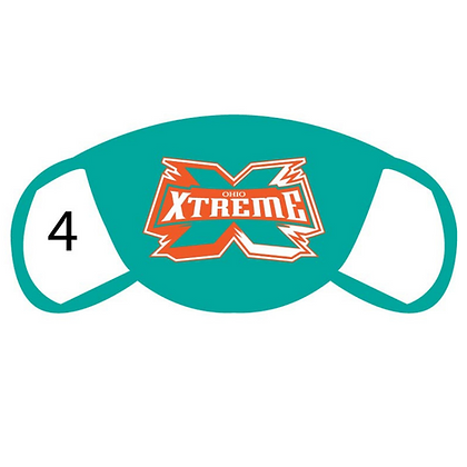 Xtreme Large Logo Face Mask