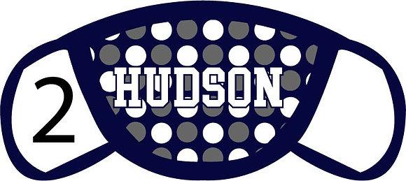 Hudson Polka Dots Face Mask