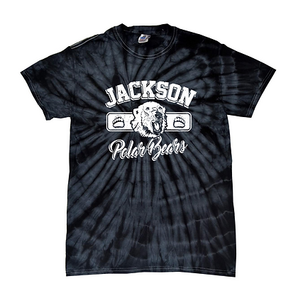Distressed Jackson Polar Bears Tie-Dye