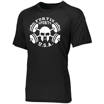 Fortis Sports USA Logo B (White) Men's Compression