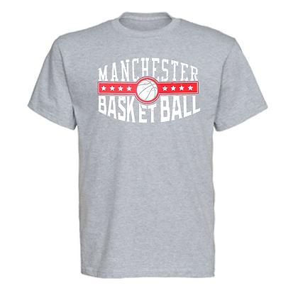 Manchester Panthers Basketball Logo #44 Unisex T-Shirt