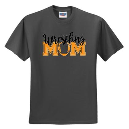 Green Bulldogs Wrestling Glitter Logo #1 Unisex T-Shirt