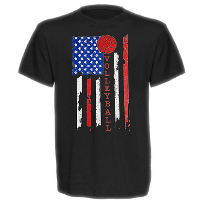 Gameday Volleyball Flag Unisex T-Shirt