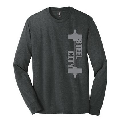 Steel City Design #6 Unisex Long Sleeve Triblend
