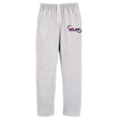AMJRF Navy and Maroon Logo Unisex Sweatpants