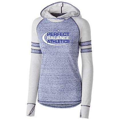 Perfect Balance Athletics Logo (Blue & White) Advocate Action