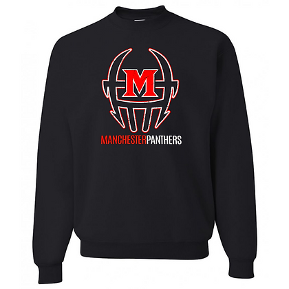 Manchester Panthers Football Logo #55 Unisex Crew Neck Sweater