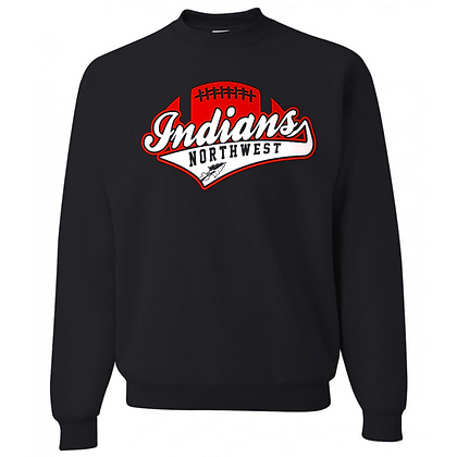 Northwest Indians Football Logo #51 Unisex Crew Neck Sweater