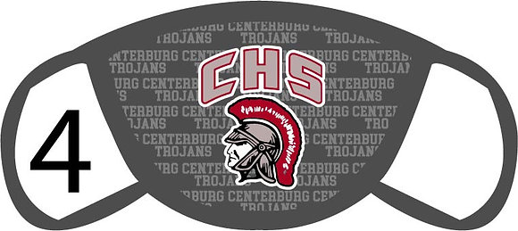 Centerburg HS Face Mask