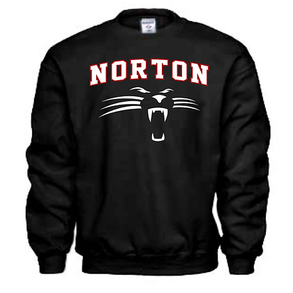 Norton Panthers General Logo #2 Unisex Sweatshirt