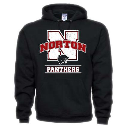 Norton Panthers General Logo #5 Unisex Hoodie