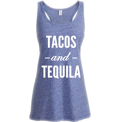 Tacos and Tequila Women's Tank Top