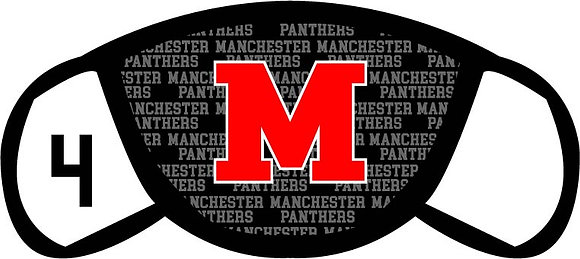 "Manchester ""M"" Face Mask"