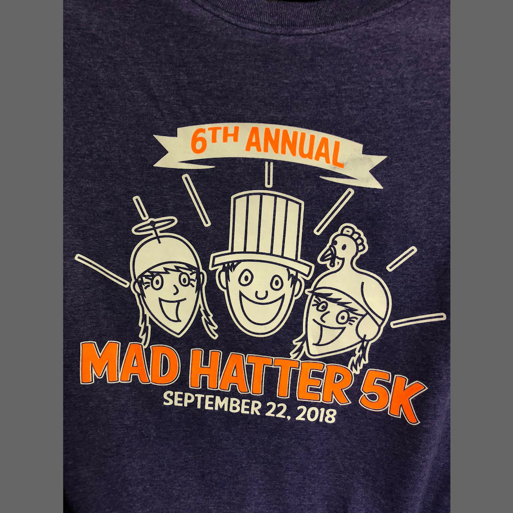 Mad Hatter 5K T-Shirt