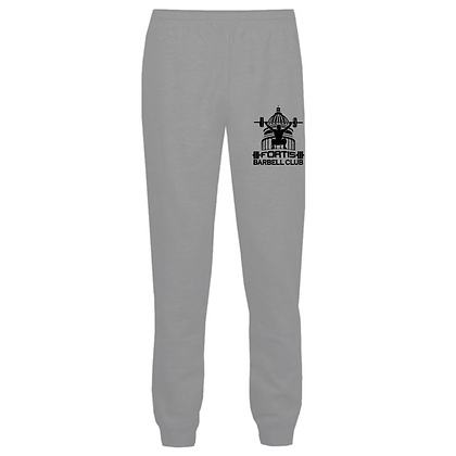 Fortis Weightlifting Barbell Club (Black Logo) Joggers