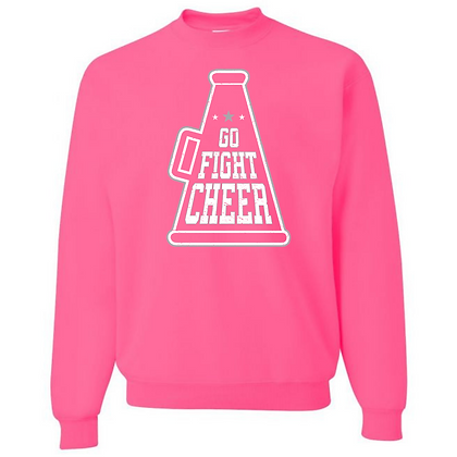 Go Fight Cheer Unisex Crew Neck Sweater